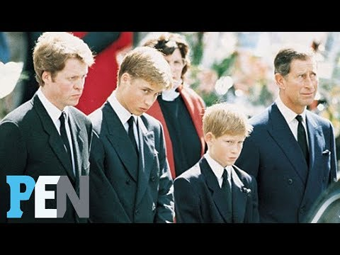 Princess Diana Remembered: How Prince William, Harry Mourned Her Death | PEN | Entertainment Weekly
