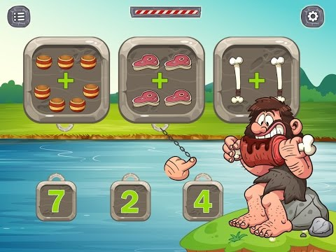 Preschool Kids Math 2, Shapes, Numbers, 3-5 Years Preschoolers Educational / Games for Children