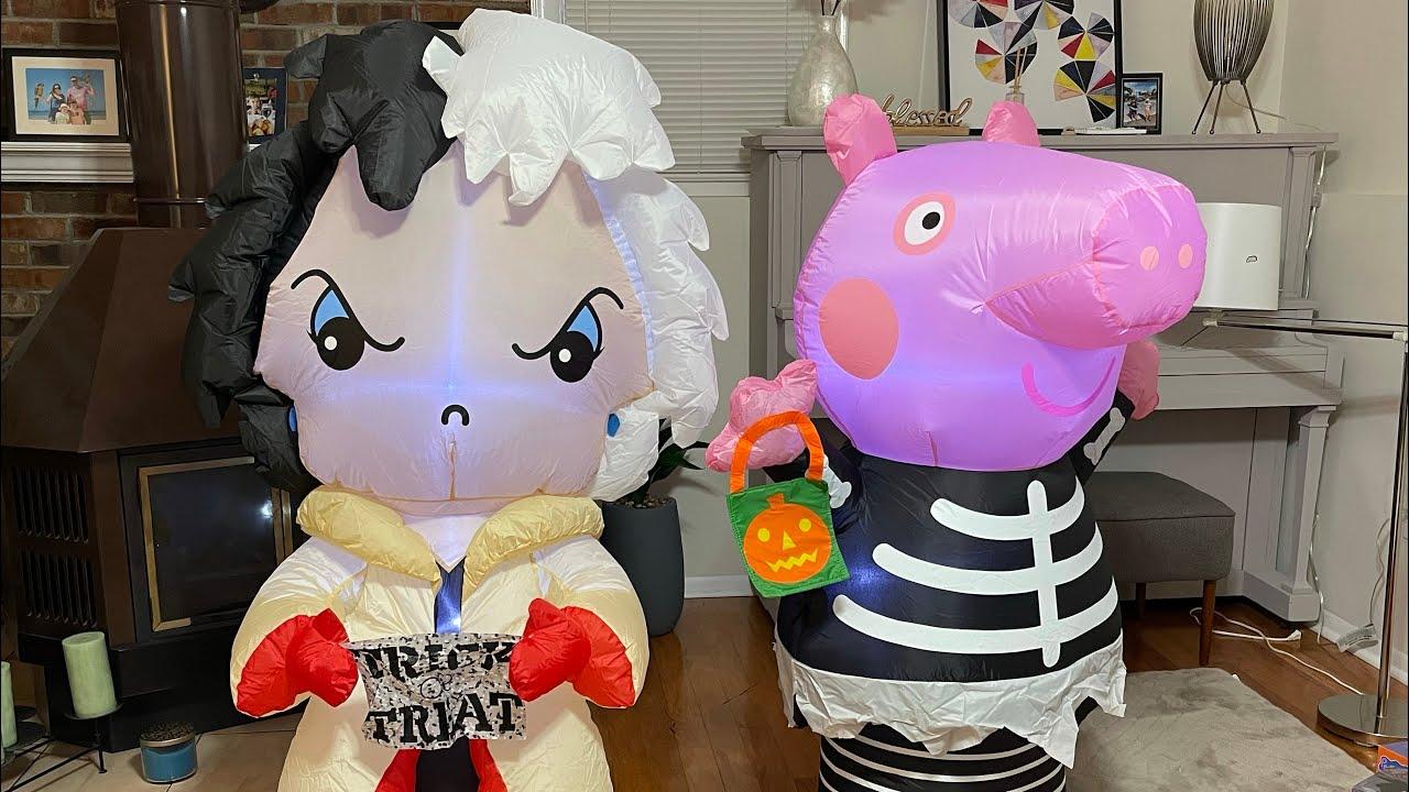 Cruela De Vil DISNEY Airblown Inflatable Halloween Unboxing 4K