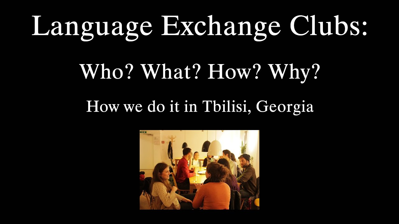 Language exchange club киев работа девушкам вахтой
