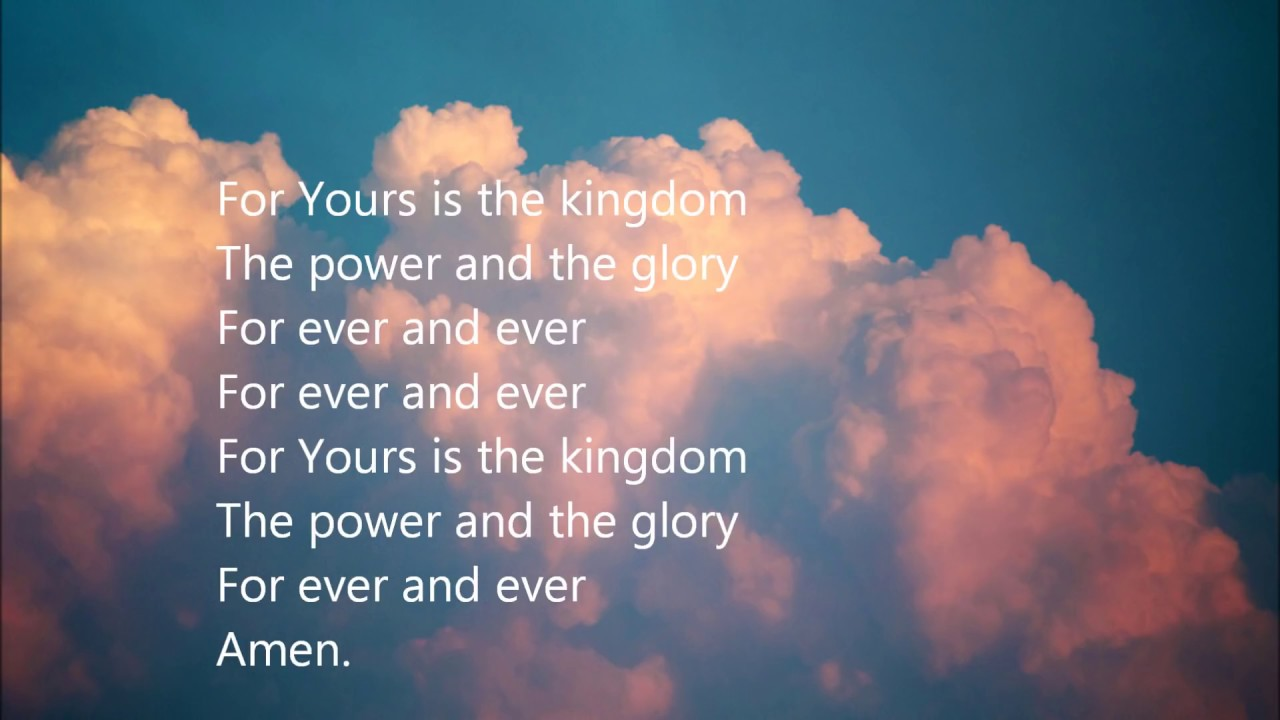 our father in heaven the lord u0027s prayer youtube