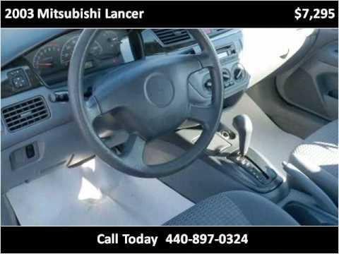2003 Mitsubishi Lancer available from North Coast Auto