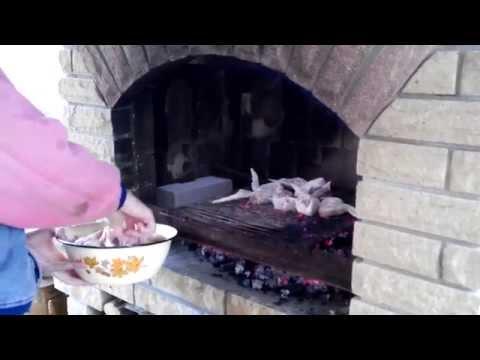 Шашлык из свинины в zefiranet