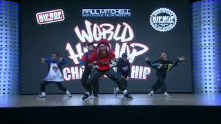 2018  World Hip Hop Dance Championship Finals - Awesome Junior (Thailand) GOLD