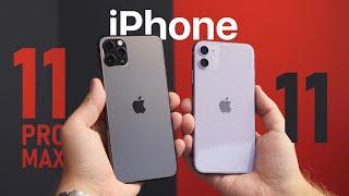 android  всё  Распаковка iPhone 11 и iPhone 11 Pro Max и первые впечатления / ОБЗОР