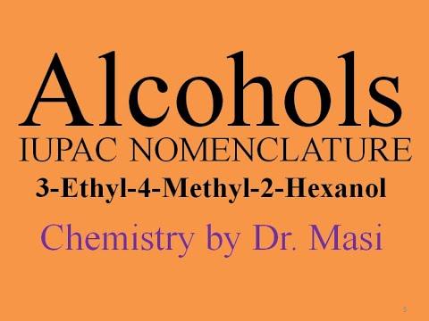 3-ethyl-4-methyl-2-hexanol,-naming-alcohols---iupac-nomenclature-with-branching-,-organic-chemistry