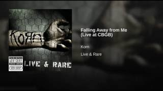 Falling Away from Me