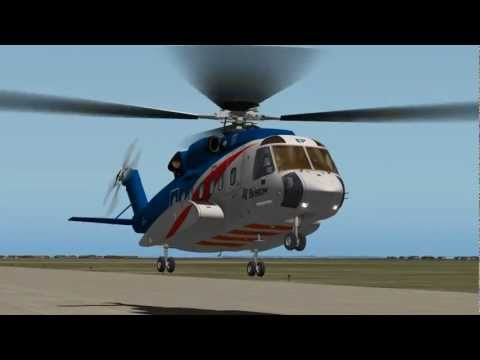 Sikorsky S-92 Simulator Tutorial #1 Start-Up & Basic Flight