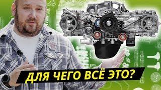 Что такое оппозитный двигатель и как он устроен  Техническая программа