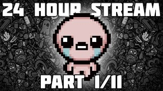 24 Hour Stream 1/11 - BoI Afterbirth NEW SAVE FILE