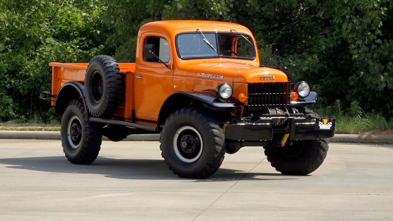 Dodge Power Wagon >> 136238 1968 Dodge Power Wagon Wm300 Youtube