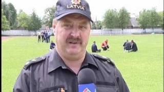 Змагання пожежників у Даугавпілсі