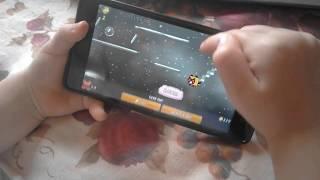 Анечка играет в Nyan Cat || игра на телефон андроид || НЯН КЭТ || ВЗАИМНАЯ ПОДПИСКА ✓