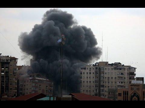 Israel Airstrikes Target High Rises