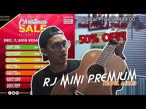 RJ PREMIUM MINI ACOUSTIC GUITAR (50% OFF!)