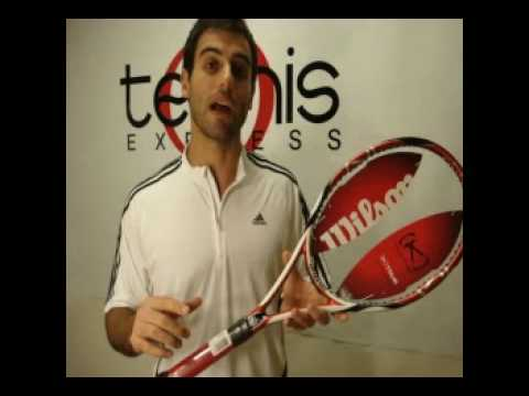 Wilson K Tour 95 Tennis Express Racket Review Used By Lindsay
