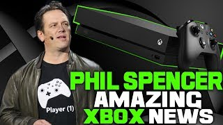 Phil Spencer Announces Some Phenomenal Xbox One News For Fans! Time To Get Hyped!