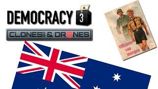 Democracy 3: Clones & Drones - Australian Fascism