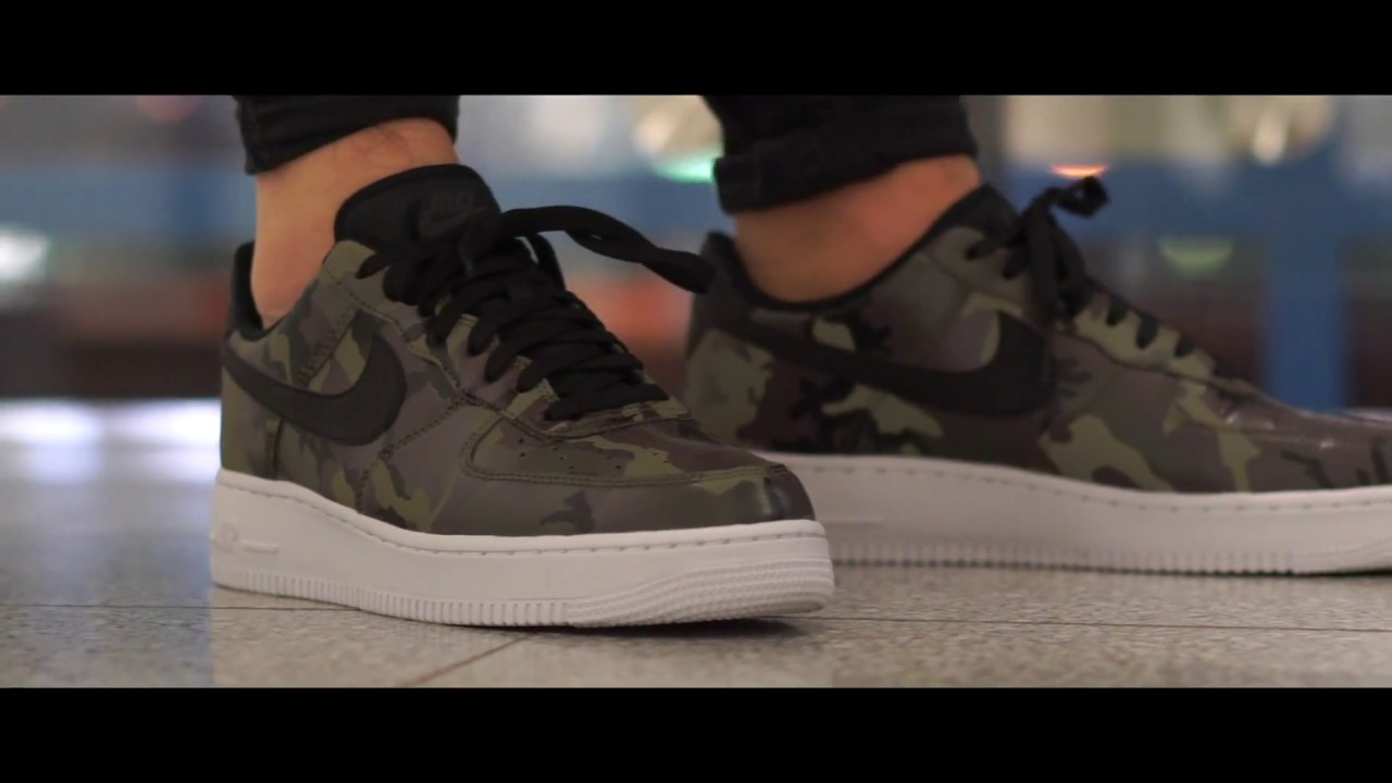 nike air force 1 low camouflage