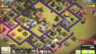 Let's play clash of clans part6:Ein spannender und knapper Ck