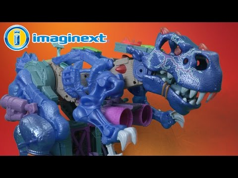 Imaginext Ultra T-Rex Ice Dino From Fisher-Price