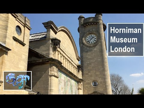 Horniman Museum musical instrument collection (and Makers Central reminder)