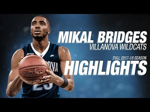 Mikal Bridges  Villanova  Ultimate Highlight Mix 201718 Season