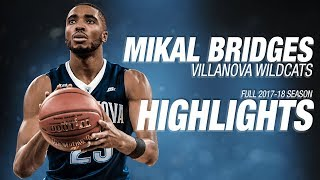 Mikal Bridges - Villanova - Ultimate Highlight Mix (2017-18 Season)