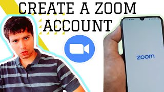 how to create zoom meeting account