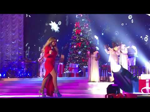 ( HD ) Mariah Carey Christmas Live Paris 2017 - Hero