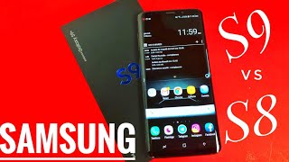 Samsung Galaxy S9 Plus VS Galaxy S8 plus Unboxing