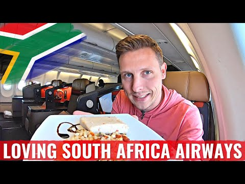 MY CRAZY 18 HOUR FLIGHT on SOUTH AFRICAN AIRWAYS BUSINESS CLASS