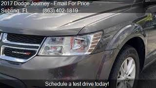 2017 Dodge Journey SXT AWD 4dr SUV for sale in Sebring, FL 3