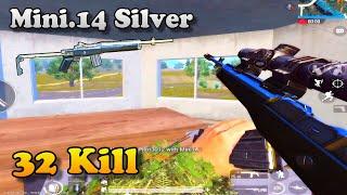 PUBG Mobile | Trận Đấu 32 Kill Với Combo Mini14 Silver Và Scope 8X
