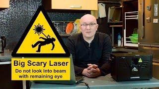 Как делаются лазерные шоу