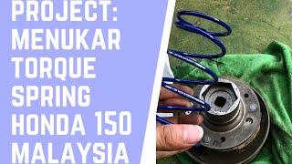 Download Lagu Honda Vario 150 Malaysia | Menukar Torque/ Contra Spring Standard ke 1500 RPM mp3