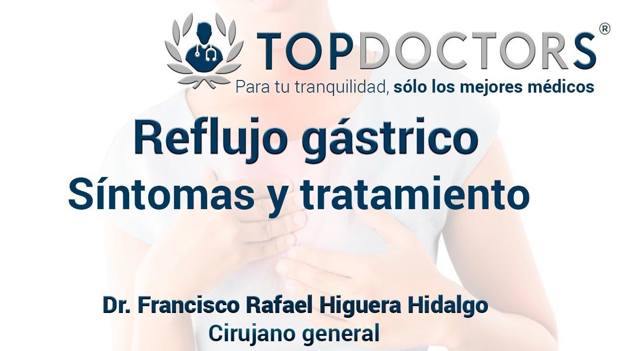 cuales son los sintomas del reflujo esofagico