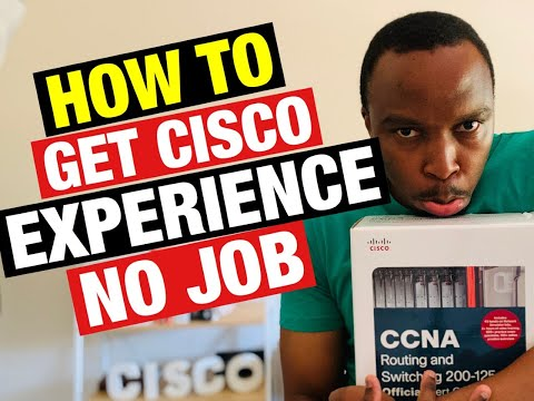 How To Get Cisco Experience Without A JOB (Network Engineer) | CCNA Routing And Switch
