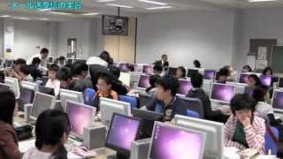平成24年度ジュニア科学塾第1回、インターネットのしくみをさぐる。