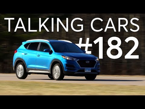 2019 Hyundai Tucson; IIHS Crash Test Ratings| Talking Cars with Consumer Reports #182