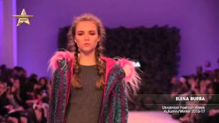 Показ    BURBA, Ukrainian Fashion Week, Осень Зима  2016 17