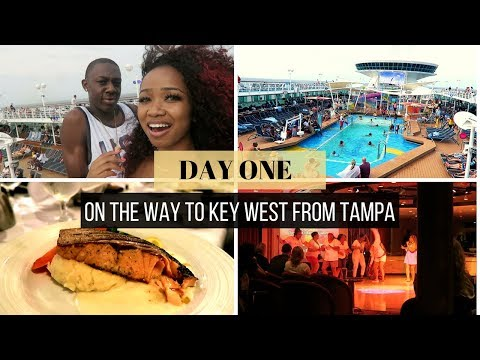 DAY 1 CRUISE VLOG: ON THE WAY TO CUBA AND KEY WEST!