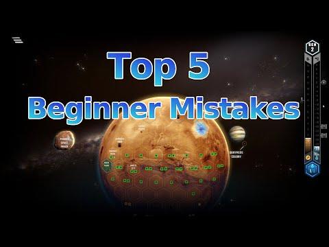 Top 5 Beginner Mistakes in Terraforming Mars |