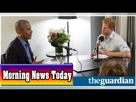 Prince harry interviews barack obama for today programme guest slot| Morning News