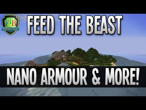 Feed The Beast: Nano Armour & More! (EP08)