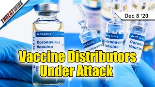 Covid-19 Vaccine Distributors Under Attack; iPhones Could Be Hacked Over Wi-Fi - ThreatWire