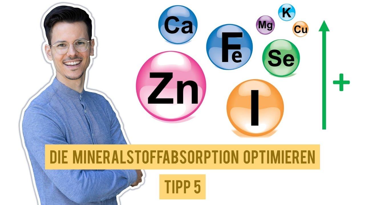 So optimiert man die Mineralstoffabsorption • Tipp 5/10 für eine gesunde vegane Ernährung