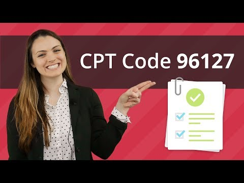 How CPT Code 96127 Can Impact Your Income