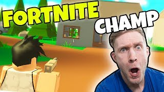 ROBLOX FORTNITE CHAMPEN?! - Dansk Roblox: Fortnite Battle Royale Island
