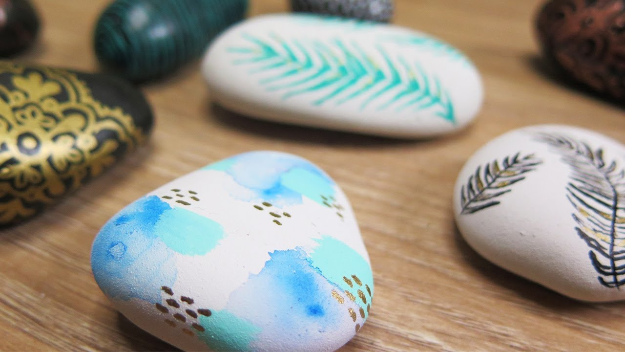 Rock Painting For The First Time Ideas And Tips What I Learned Youtube